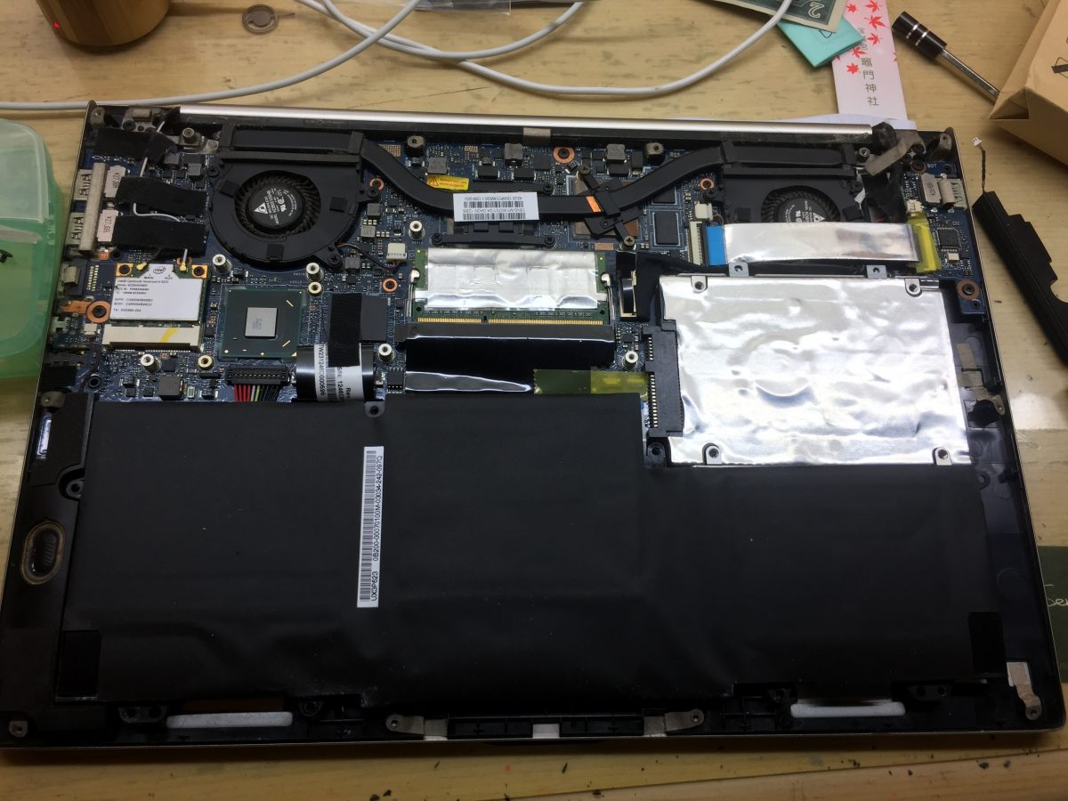 ASUS ZenBook UX32V 更換SSD硬碟 教學
